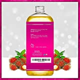 Pure Body Naturals Cold Pressed Castor Oil for Hair Growth & Skin Care, Hexane-Free, 16 Fl. Oz