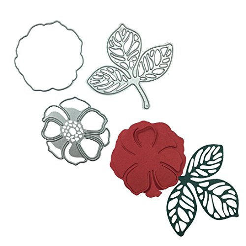 Metal Cutting Dies for Card Making, Staron Die Cuts Scrapbooking Stencils Embossing Cut Die Metal Template Mould for DIY Scrapbook Embossing Photo Album Cards Crafts (D) by Staron (Image #2)