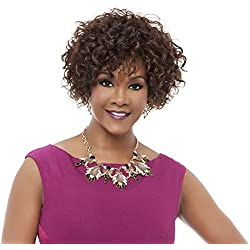 Vivica A Fox HH-Whitney Premium Human Hair Pure Stretch Cap Wig, P4/27/30, 10.9 Ounce