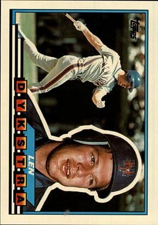 Amazoncom 1989 Topps Big Baseball Card 41 Len Dykstra