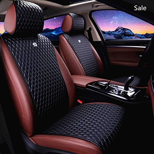 - Universal Seat Covers for Cars 2/3 Covered Leather Auto Seat Covers 11PCS Black Car Seat Cover Fit Car/Auto/Truck/Suv (A-Black)