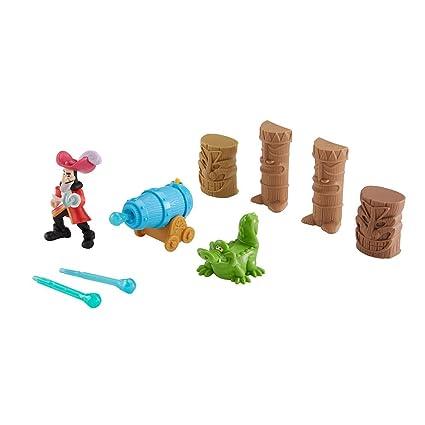 Fisher-Price Disney Jake and the Never Land Pirates Hook's Tiki Target  Challenge