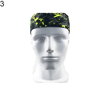 WliYaGg Sports Headband Men Women Tennis Pirate Gym Hairband Workout  Cycling Magic Scarf 3  ac7b073dd9