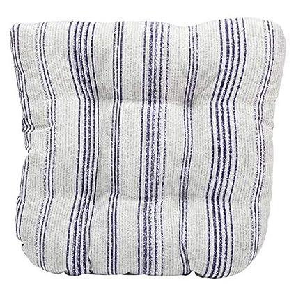 Amazon.com: Juego de 2 cojines de sillón de mimbre para ...