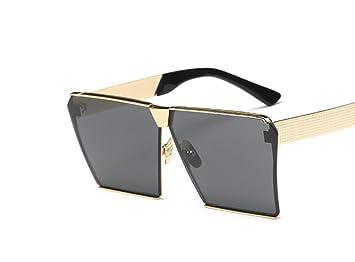 XYLUCKY Moda polarizado gafas de sol cuadradas grandes , c: Amazon.es: Deportes y aire libre