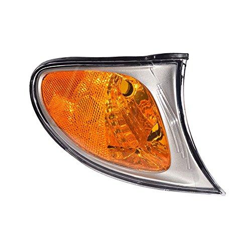 NEW PASSENGER SIDE WHITE TURN SIGNAL LIGHT FITS BMW 320I 2002-2005 BM2521110 63136915384 63-13-6-915-384 63 13 6 915 - 63 13