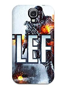 Snap-on Battlefield 4 Case Cover Skin Compatible With Galaxy S4