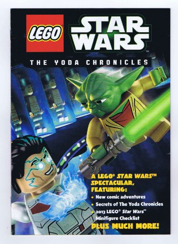 2013 SDCC Lego Star Wars The Yoda Chronicles Promo Comic Book+