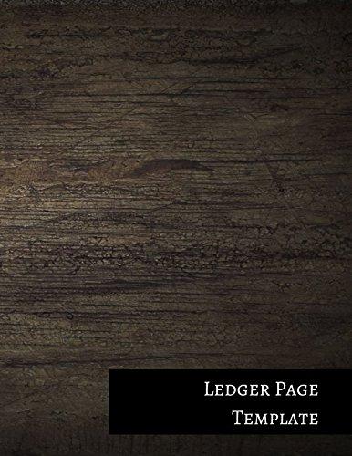 Download Ledger Page Template: Two Columnar Format pdf epub