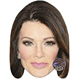 Lisa Vanderpump (Pink Lipstick) Celebrity Mask, Card Face and Fancy Dress Mask