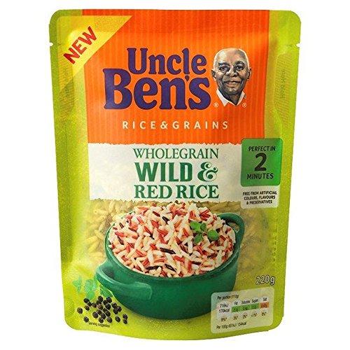 (Uncle Bens Wholegrain Medley Rice - 220g (0.49lbs))