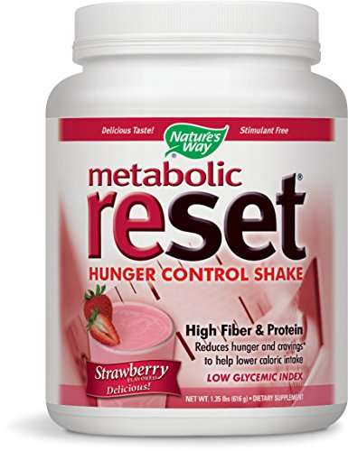 Nature's Way Metabolic Reset, Strawberry, 616g by Nature's Way