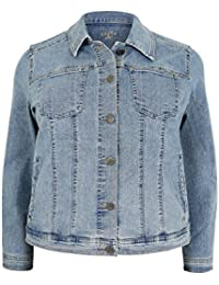 Amazon.com: Plus Size - Denim Jackets / Coats, Jackets & Vests ...