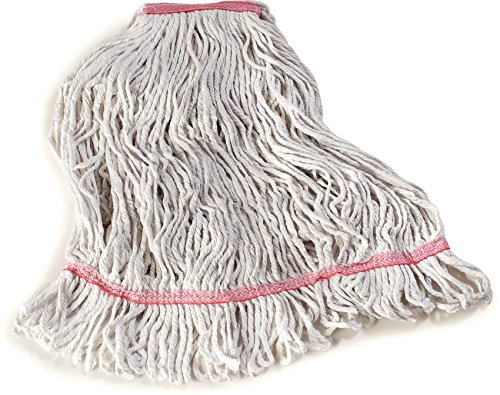 Carlisle 369425B00 Loop-Ended Narrow Band Mop Head Only, Large, Red (Pack of 12) by Carlisle (Image #6)