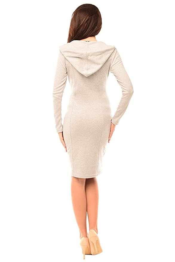 9a3a013c42905 Purpless Maternity 2in1 Pregnancy and Nursing Woman Dress Hooded Kangaroo  6211 at Amazon Women's Clothing store: