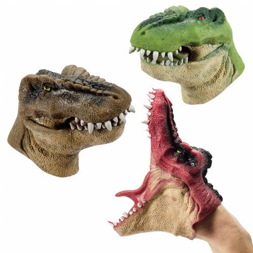 Schylling Dino Hand Puppets (Set of 3)