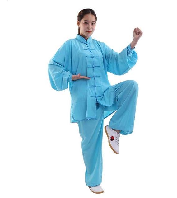 Citizen Tai Chi Traje Mujer Maschi Transpirable Estilo Chino ...