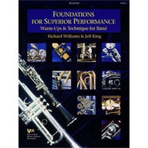KJOS Foundations for Superior Performance Clarinet (Standard) ()