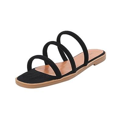 b1d76ad3fbc1 Lolittas Women Summer Beach Gladiator Sandals Flat Wedge