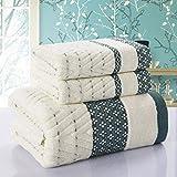 Simple Creative Cotton Towel Home Gift Birthday Bath Towel Gift Box (Three Sets)
