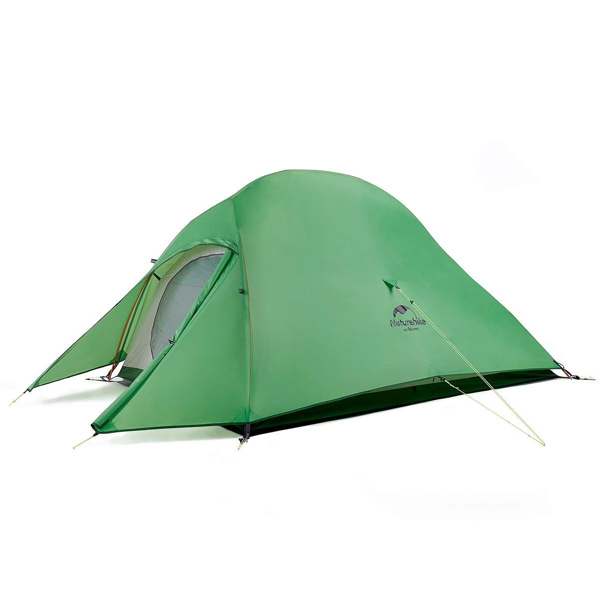 Naturehike Tent Upgrade Cloud Up Upgrade Ultralight 2 Person Tent for Camping,Backpacking,Hiking (Green(210T Polyester)) by Naturehike