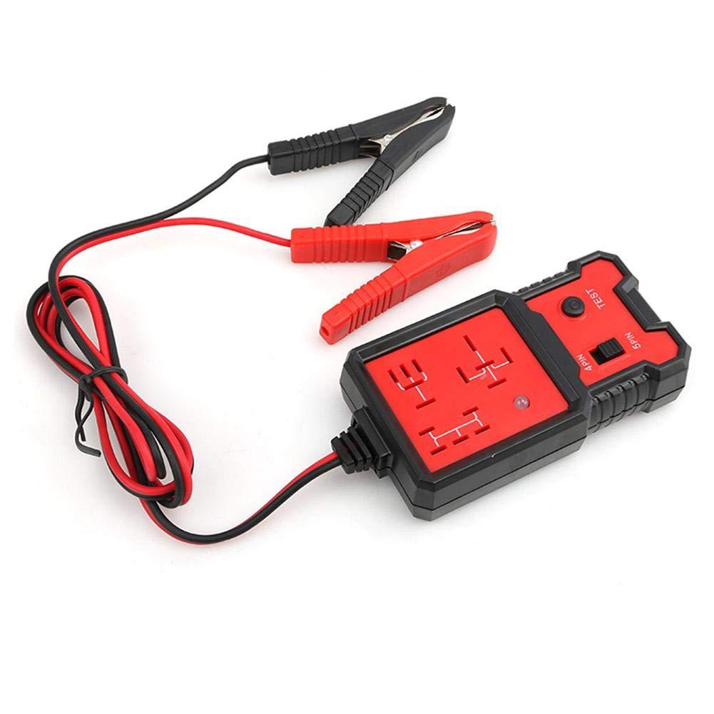 24 V Auto Repair Relay Testing Device Relay Detector Car Repair Tools Car 12V Four Pin Five Pin Relay Detector 12 V