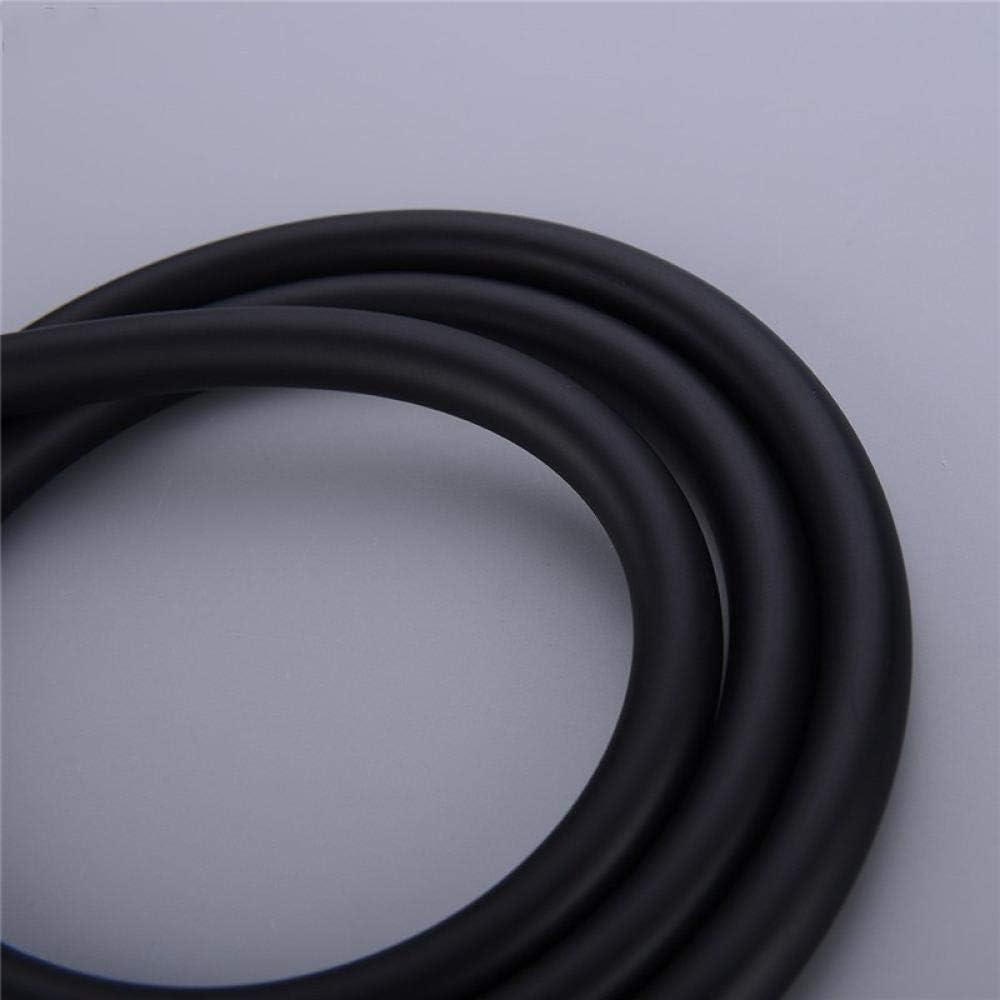 Flexibler PVC Hochdruck schwarz Duschschlauch glatt explosionsgesch/ützt Brauseschlauch f/ür Handbrause