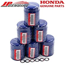 Acura/Honda OEM Genuine 15400-PLM-A02 Engine Oil Filter + Drain Washers - Set of 6