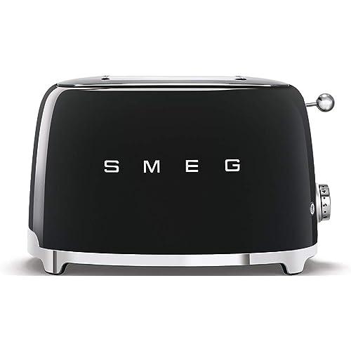 Smeg 2 Slice Toaster - Black