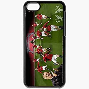 XiFu*MeiPersonalized iphone 4/4s Cell phone Case/Cover Skin Manunited UEFA Manchester United Football BlackXiFu*Mei