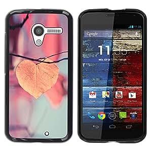 Be Good Phone Accessory // Dura Cáscara cubierta Protectora Caso Carcasa Funda de Protección para Motorola Moto X 1 1st GEN I XT1058 XT1053 XT1052 XT1056 XT1060 XT1055 // Autumn Ora