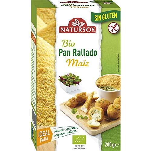 Pan rallado sin gluten Natursoy 200 g: Amazon.es ...