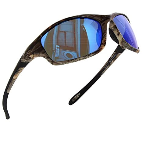 9949c315fee Image Unavailable. GS GM Mens Polarized Sunglasses Camouflage Sunglasses  Sport ...