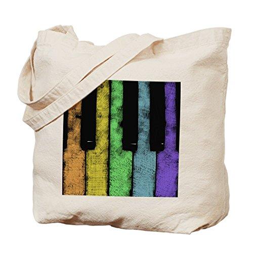 CafePress Pride PIANO Tote Bag - Standard Multi-color by CafePress