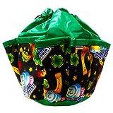 Lucky Charms 10-pocket Dauber Bag Vinyl Green