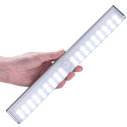 Rechargeable Closet Light, LOFTER Portable 36 LED Wireless Motion Sensor  Light Stick On