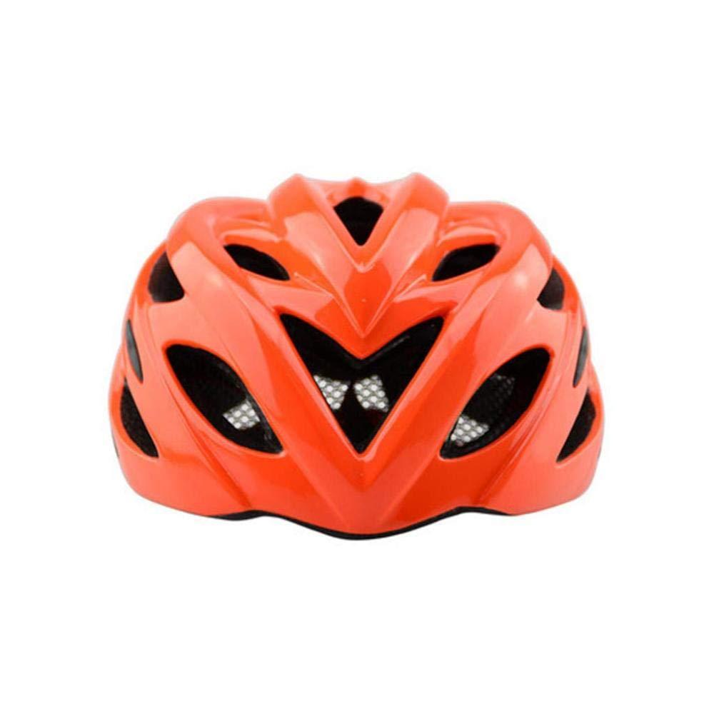 AZW@ Fahrradhelm Mit Leichtem Helm Mountainbike Reiten Liefert Helm Männer Und Frauen Reitausrüstung, Schutzausrüstung,rot,57-61cm