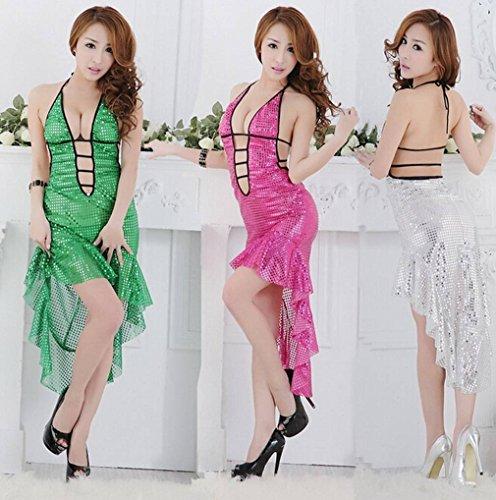 Mesh Red Sleepwear Nightwear Lingerie Underwear Lace F Womens Ru Xiang Babydoll qt8Yvw