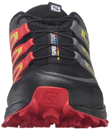 Black Traillaufschuhe Schwarz Yellow L39062400 Black Salomon Corona Schwarz Radiant Corona Herren Red Radiant Yellow Red Etgvqw