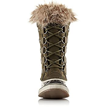 Sorel Women's 12 In. Joan Of Arctic Waterproof Boots, Noridark Stone Green 9 2