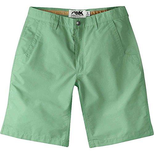 Mountain Khakis Men's Poplin Short Slim Fit, Sage, 38 W 8in - Mens Sage Khaki