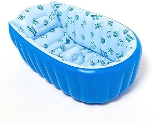 NabothT bebé bañera hinchable azul piscina bebé 106*57*30: Amazon ...