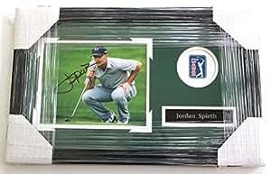 "Jordan Spieth Signed Autographed 22"" x 14"" Framed Photo"