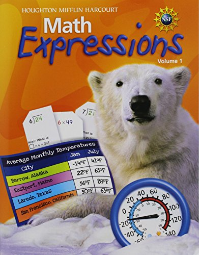 Math Expressions: Student Activity Book Softcover, Volume 1 Level 4 2009