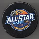 2018 All Star Game Tampa Bay Lightning Florida Amalie Arena Official NHL Puck + FREE Puck Cube