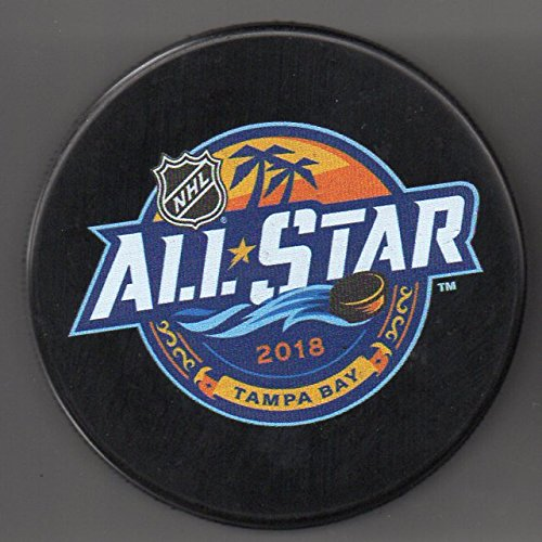 2018 All Star Game Tampa Bay Lightning Florida Amalie Arena Official NHL Puck + FREE Puck ()