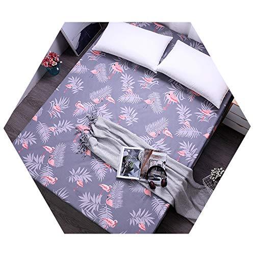 Sheet Mattress Cover All-Around Elastic Rubber Band Bed Linens HLN 100X200cmX25 ()