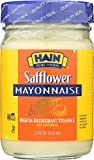 Hain Pure Foods Safflower Mayonnaise, 12 Ounce
