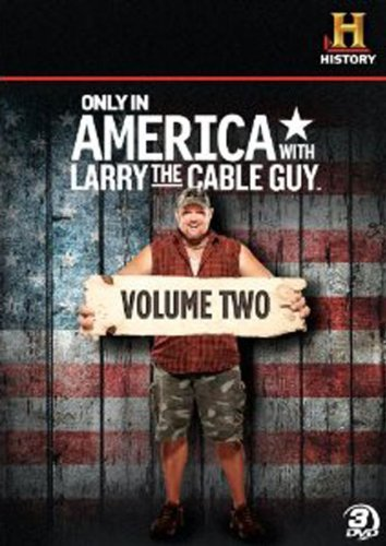 Only In America With Larry The Cable Guy: Volume 2 [DVD] by A&E HOME VIDEO