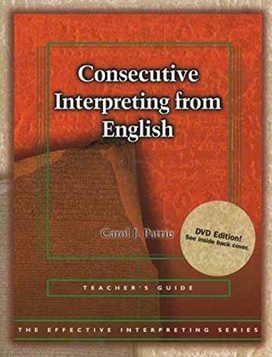 Harris Communications BDVD186 Effective Interpreting - Consecutive Interpreting from English Teacher Set